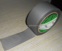 White Embossed glossy Easy Tear PVC protection Tape
