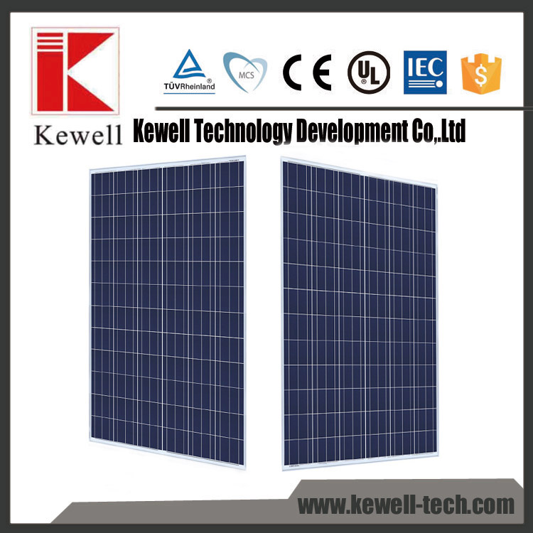 High end quality solar system thick aluminum frame poly solar panel 300 watt