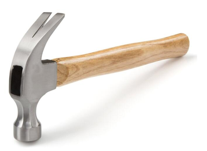 Factory Wooden Handle American Small Claw Hammer
