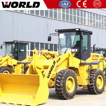 construction equipment 3T Small Wheel Loader Price List for sale