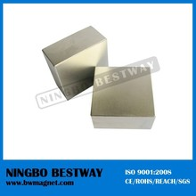 rare earth high power ndfeb monopole neodymium block magnet for sale