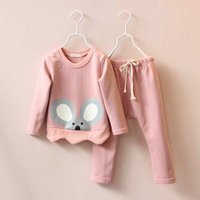 Baby Clothes Korean Style Baby Autumn Clothes Sets Sweat Shirts And Pants For Kids