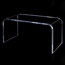 Clear acrylic French Style Side Table Acrylic Room Corner Table Small Console Table