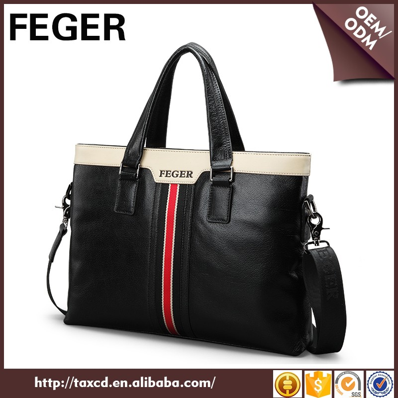 Factory Oem Man Genuine Leather Design Your Own Shoulder Bags