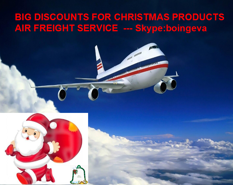 Christmas product Reliable&prefessional air freight shipping cargo service to DAR-ES-SALAAM,TANZANIA from China - Eva