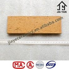 Fire rated lightweight thin clay wall tiles