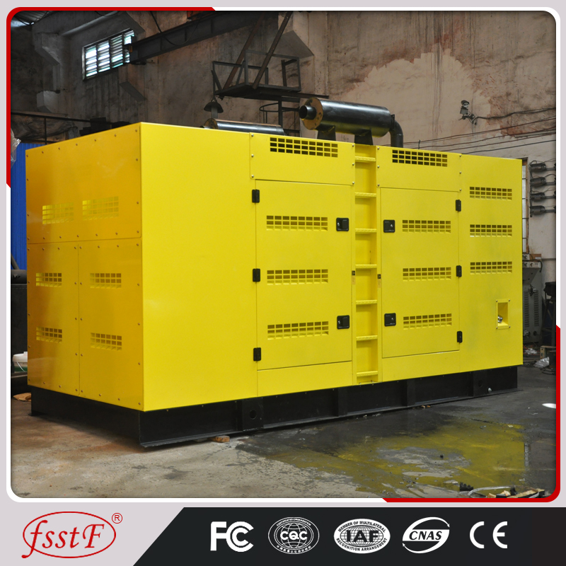 2016 new technology 500kw construction site generator in China