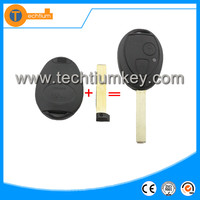 e46,e39,e36,e34,x5Mini 2 button remote key shel,key blank ,key case cover fobl(with words on back) for BMW