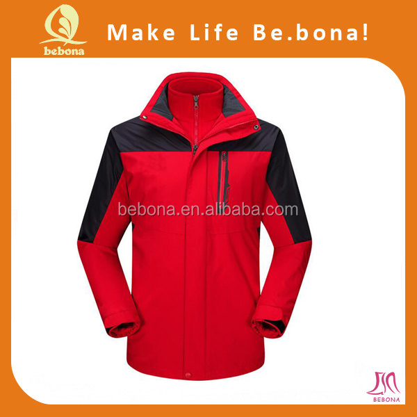 Custom Sports Men Heating Reflective Jacket Apparel