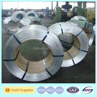 2.4mm high tensile galvanized steel wires