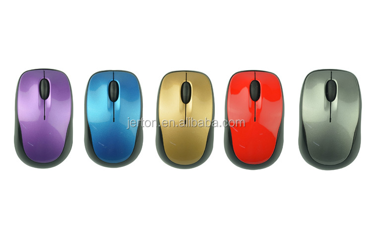 24g usb 20 folding wireless optical mouse for pc laptop - red