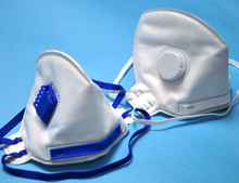 Air hole custom disposable respirator gas face mask