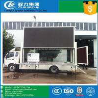 FOTON AULING single cabin LED mobile van truck 4X2 LED Truck AND MOBILE LED TRUCK FOR OUTDOOR ADVERTISING for sales