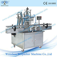 Automatic small scale bottle filling machine