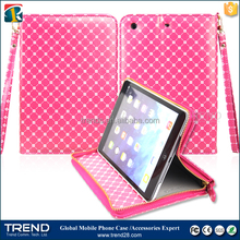 alibaba express zipper flip leather case for samsung tab 4 8 inch