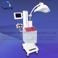 Multifunctional no needle mesotherapy multi-polar RF cavitation pdt led light therapy machine