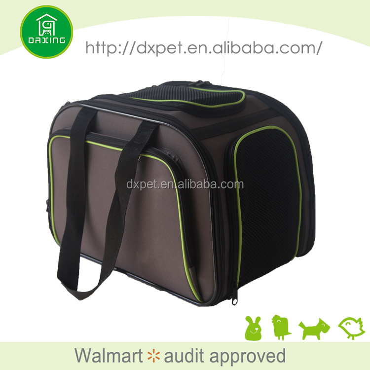 Pet luggage dog air conditioned pet carrier