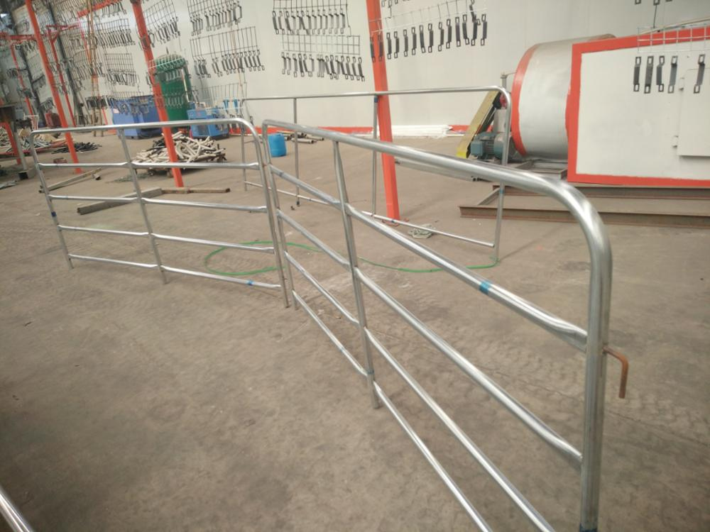 2.1m * 1.8m Australia Standard Heavy Duty Galvanized Cattle Panles / Cattle Livestock Panels / Cattle Yard Panels