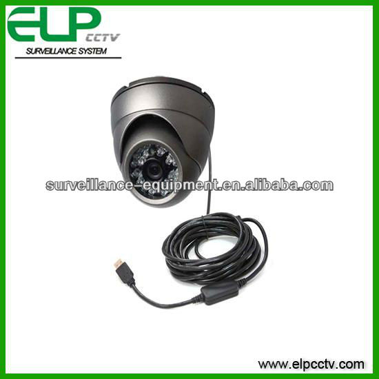 Driver CCTV USB infrared Recording dome camera with TF card memory USB Cable!