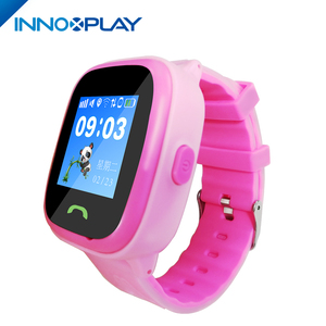 IP67 Waterproof GPS Pre-installed one key SOS customized for Children smart watch voice chat with parents children phone watch