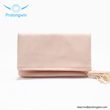 2018 pu pink clutch bag evening