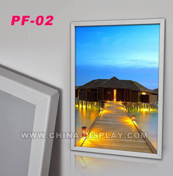 2016 hot sale product snap poster display Aluminum photo picture frame
