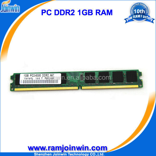 Low density best proce 64mb*8 1gb ram memory 667 for ddr2