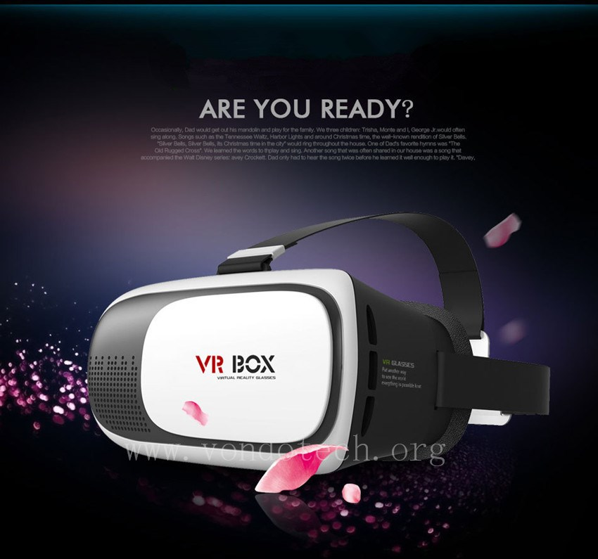 The second generation VR Box 3D glasses 2.0 Exquisite craft super shock