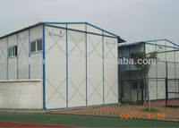 New design beautiful appearance steel sentry box & sentry box house & prefab steel house with eps panel