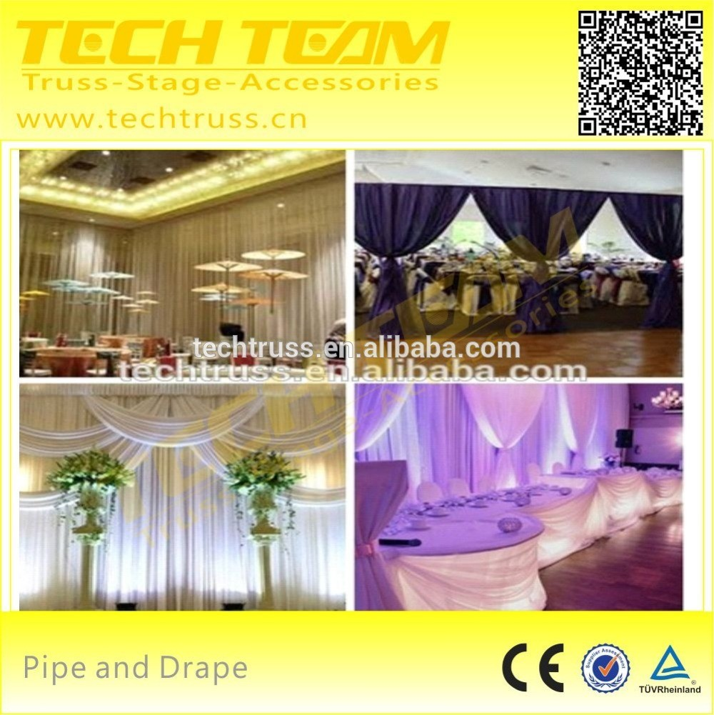 Aluminum portable pipe and drape , telescopic pipe and drape