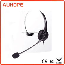 Headband Style call center headset wired headphones for service center