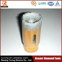 China Professional Brazed Diamond Tool Factory Supplied Tools Drill For Stone Marble Concrete