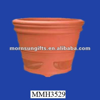 Novelty terracotta tomato tree planter