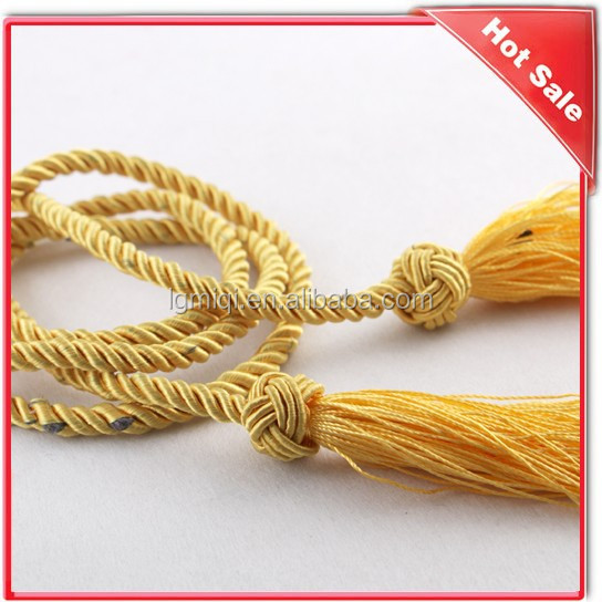 colored twist paper bag rope