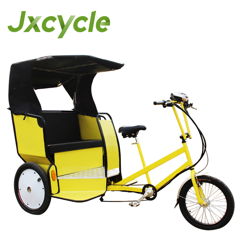 popular jinricksha three wheel rickshaw front passenger