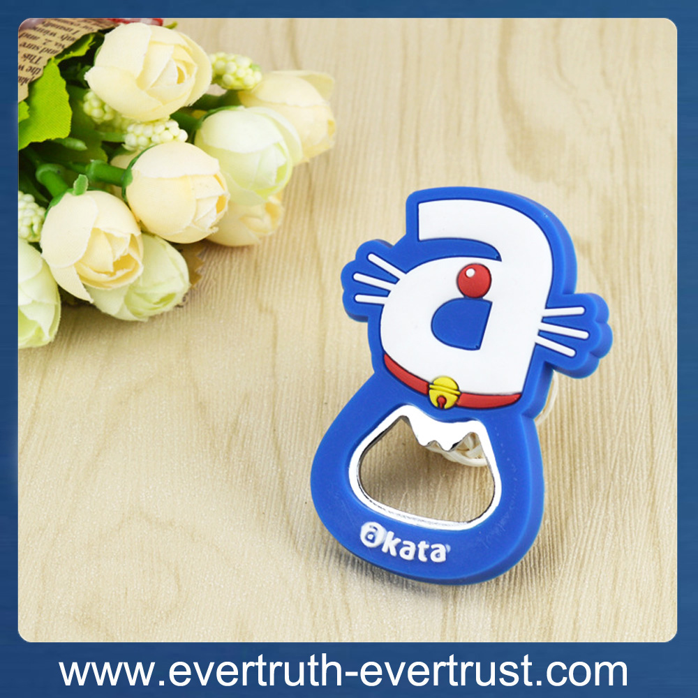 promotional fridge magnet animal beer bottle opener
