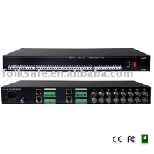 16- CH Active Video Receiver Hub balun video passivo