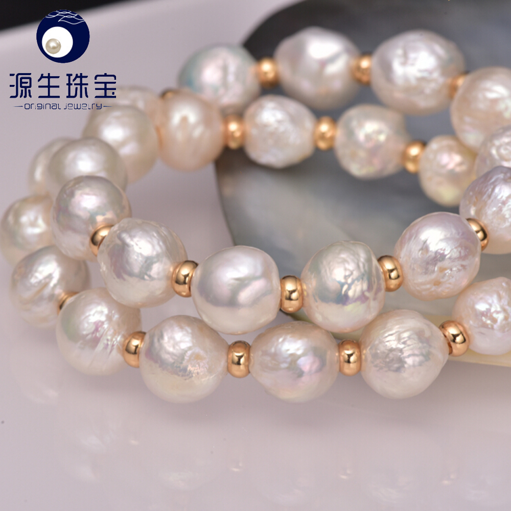 2016 new arrival freshwater baroque pearls jewelry necklace