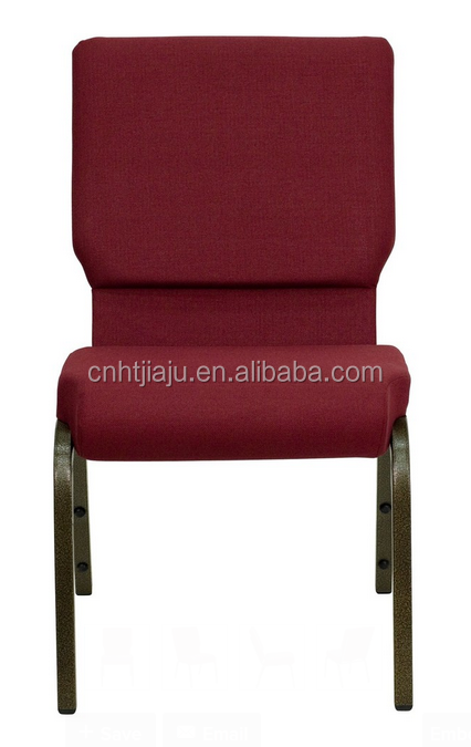 Stacking metal church chair /banquet chair/steel chair