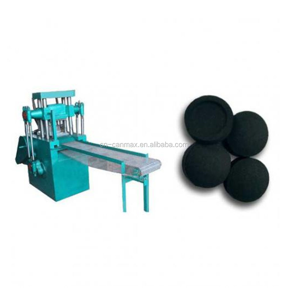 Africa use shisha charcoal briquette machine/wood charcoal ball press machine with best price