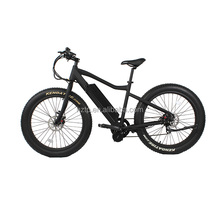 High quality 48V 750W high speed long distance fat tire electric bike with Bafang BBS02 mid drive motor