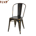Colorful fashion stacking dining industry chair