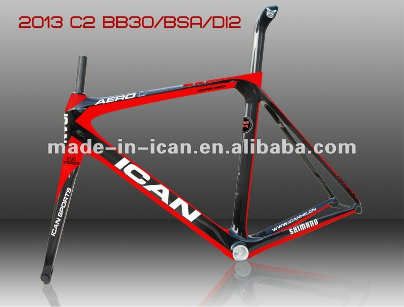 3K/UD/12K/ carbon road frame with AC053 in 56cm with painting design