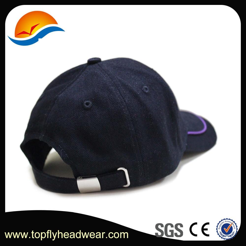 design your own 6 panel baseball cap black baseball cap