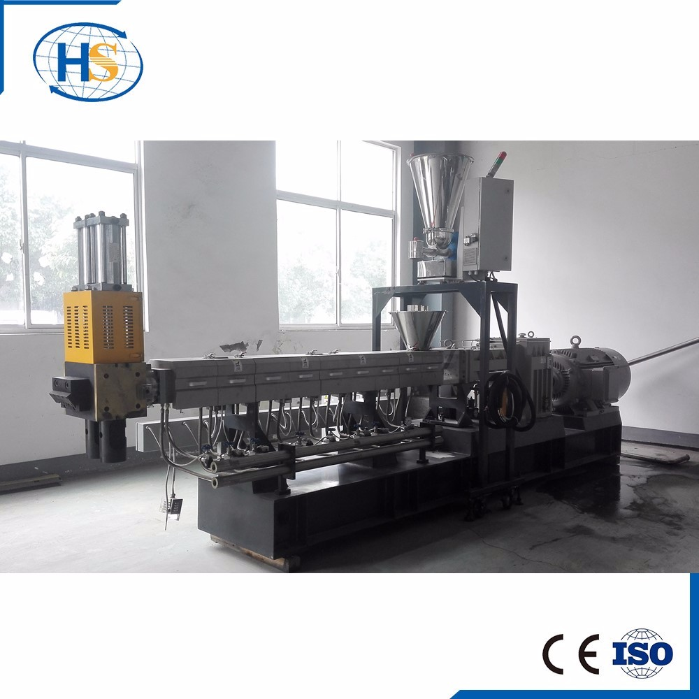 Co-Rotating Twin Screw Underwater Line Plastic Granules Making Machinery/Plastic Film Pelletizing Extruder Machine