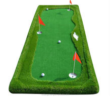 2017 Hot selling customized size Mini Golf Green golf putting green mat