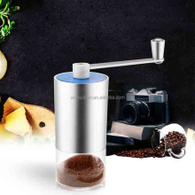 manual aluminum coffee grinder coffee mill