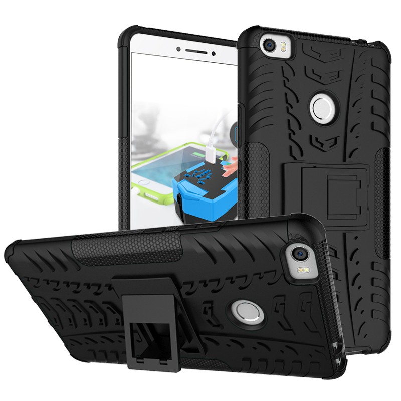 High quality Shockproof hybrid slim armor beautiful back cover case for Xiaomi Mi Max
