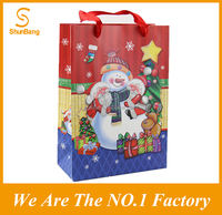 2016 Customized gift packaging Christmas Paper Bag