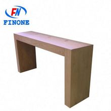 Top sell shop counter table design to laptop cell phone store fixture display